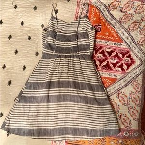 Blue and grey old navy summer dress.